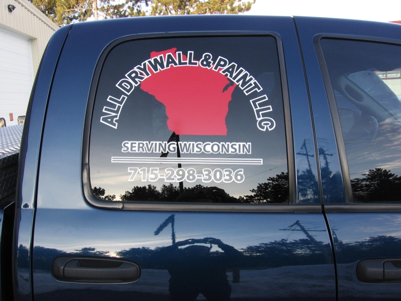 All Drywall & Painting Vehicle Graphics