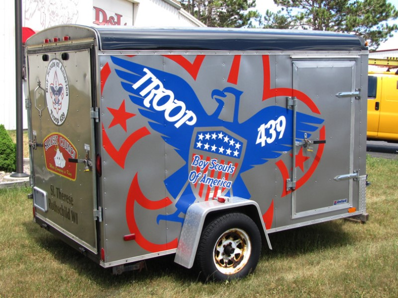 Boy Scouts Trailer Graphics