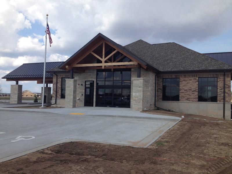 Investors Community Bank Flagpole Installation