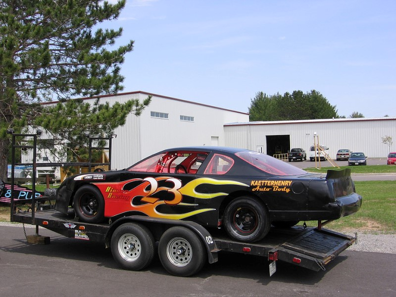 Race Car Vehicle Graphics