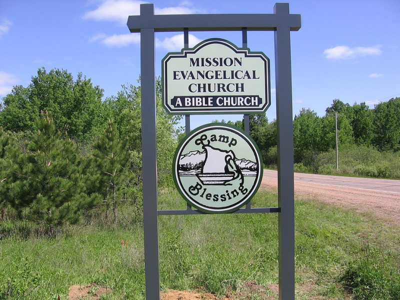 Mission Evangical Church Signage
