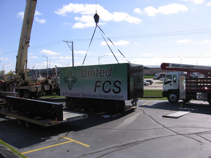 United FCS Street Sign Installation