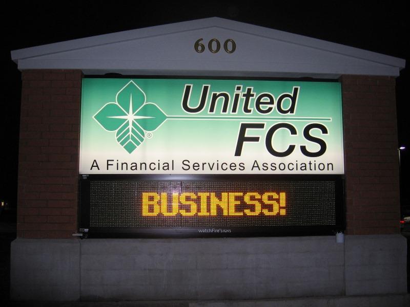 United FCS Signage
