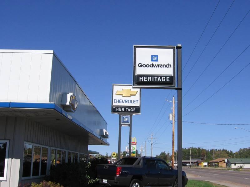 Chevrolet GM Signage Installation