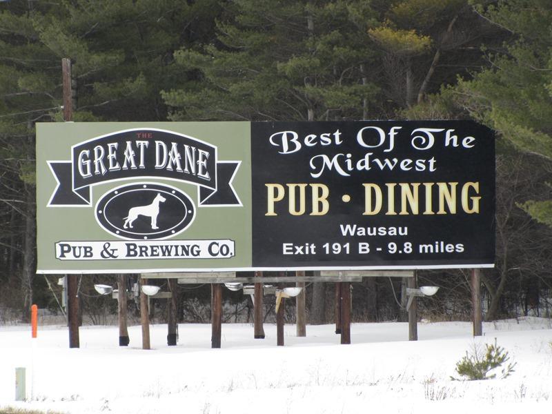 Great Dane Billboard