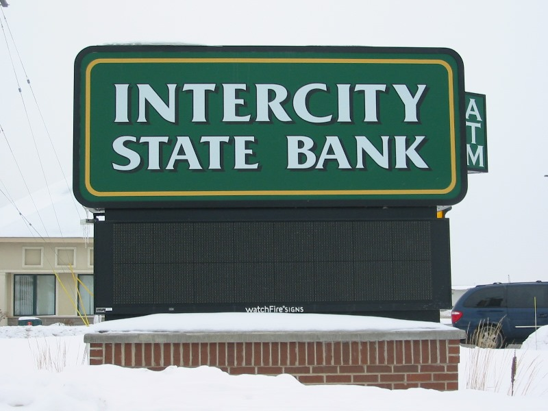 Intercity Monument Signage