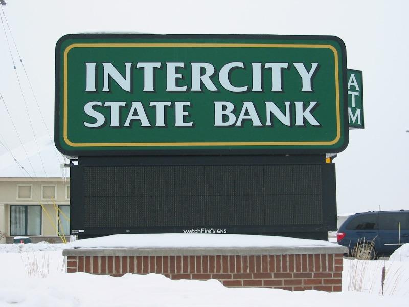 Intercity Monument Signage