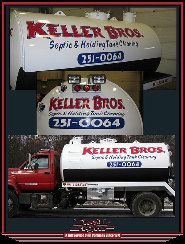 Keller Bros Vehicle Signage