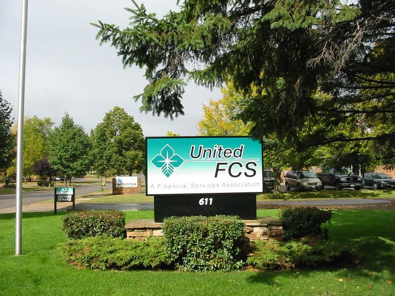 United FCS Monument Signage